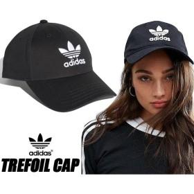 アディダス トレフォイル ベースボールキャップ adidas TREFOIL BASEBALL CAP FUC24 black/white 野球帽 ブラック キャップ 帽子
