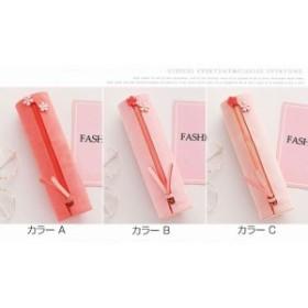 桜 ジッパー かわいい ペンケース ふでばこ 文房具 大容量 筆箱 小物入れ 収納 豊富 さくら  攜帯便利