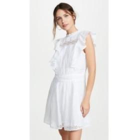 フレーム FRAME レディース ワンピース ワンピース・ドレス Lace Pintuck Dress Blanc
