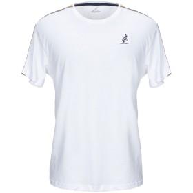 《期間限定セール開催中!》AUSTRALIAN メンズ T シャツ ホワイト L コットン 100%