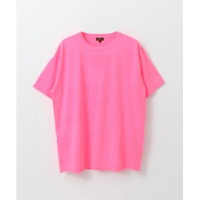 (URBAN RESEARCH/アーバンリサーチ)FREEMANS SPORTING CLUB Garment Dyed T-SHIRTS/メンズ NEONPINK
