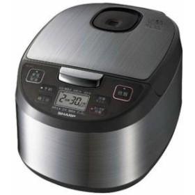納期約1~2週間 SHARP シャープ KS-S10J-S ジャー炊飯器(5.5合炊き) シルバー系 KSS10J