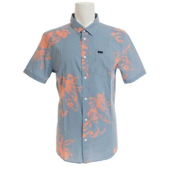 RVCA 【オンライン特価】 VAUGHN LINEAR 半袖Tシャツ AJ041133 DSB (Men's)