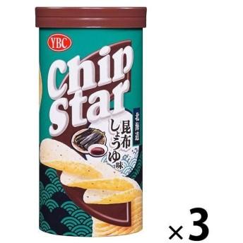 ヤマザキビスケット チップスターS 北海道昆布しょうゆ味 1セット(3個)