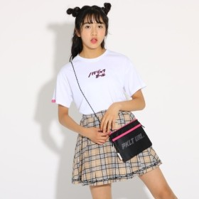 [マルイ]【セール】天竺ロゴTシャツ&サコッシュ/ピンクラテ(PINK latte)