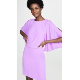 ホルストン ヘリテイジ Halston Heritage レディース ワンピース ワンピース・ドレス Cape Sleeve Open Back Dress Tulip