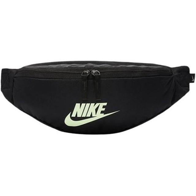 ナイキ(NIKE) ウエストポーチ ヘリテージ ヒップ パック ブラック/ブラック/ベアリーボルト MISC BA5750 015 ウエストバッグ バッグ 鞄 スポーツバッグ