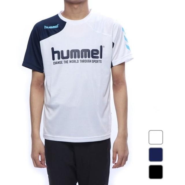 ヒュンメル メンズ サッカー/フットサル 半袖シャツ プラクティスTシャツ (HAP1143AP) hummel
