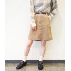 179/WG(179 WG)/フロントボタンボックススカート