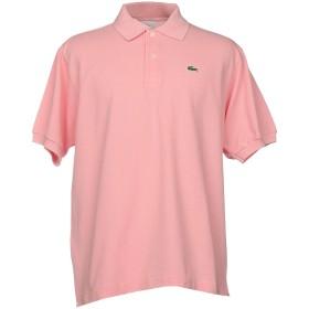 《セール開催中》LACOSTE メンズ ポロシャツ ライトピンク 6 コットン 100%