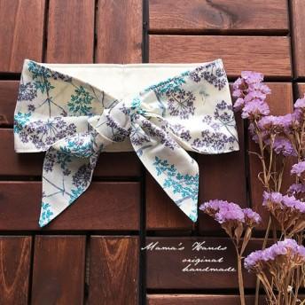 保冷剤 リバティ オフホワイト 花柄 綿100% 節約 快適 エコ 夏 スカーフ ネッククーラー