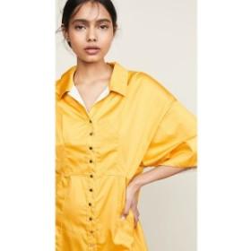 クロエ See by Chloe レディース ワンピース ワンピース・ドレス Shirtdress Citrus Yellow
