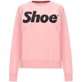 《期間限定セール開催中!》SHOESHINE レディース スウェットシャツ ライトピンク XS コットン 95% / ポリウレタン 5%