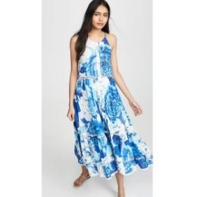 ファーム FARM Rio レディース ワンピース ワンピース・ドレス Azulejo Tile Dress Blue