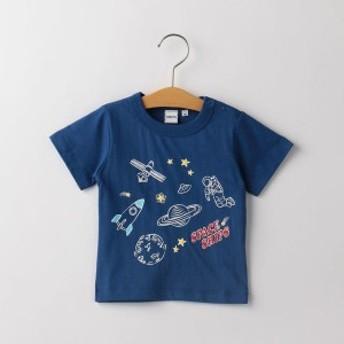 シップス キッズ(SHIPS KIDS)/SHIPS KIDS:ジャーニー&スペース プリント TEE(80~90cm)