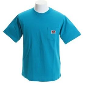BEN DAVIS 【オンライン特価】 無地ベーシック ピスネーム ポケット 半袖Tシャツ 9580000-TUQ (Men's)