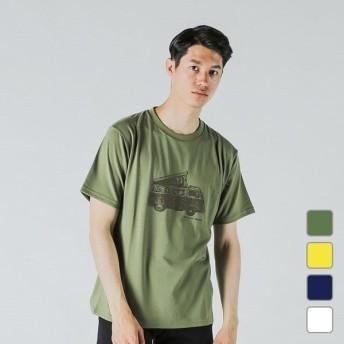 マーモット メンズ トレッキング アウトドア半袖Tシャツ キャンピングカー (TOMLJA64) CAMPING CAR H/S T Marmot