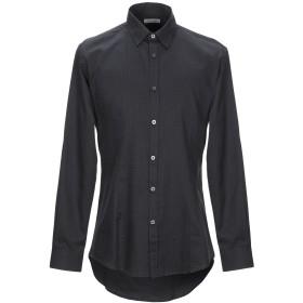 《期間限定セール開催中!》DANIELE ALESSANDRINI HOMME メンズ シャツ ブラック 40 コットン 100%