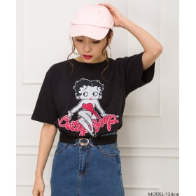 スプレイ BETTY Tシャツ レディース ブラック F(M) 【SpRay】