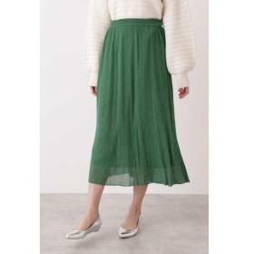 NATURAL BEAUTY BASIC / ナチュラルビューティーベーシック  sweet 3月号掲載 ラメプリーツニットスカート