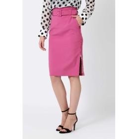 50%OFF PINKY&DIANNE (ピンキーアンドダイアン) ◆【◆2WAYダブルクロススカート ピンク1(091)