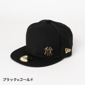 ニューエラ キャップ 12028787 CAP 5950 (12028787 BLKGD) 帽子 : ブラック×ゴールド NEW ERA