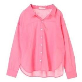 グリーンパークス Green Parks ベーシックシャツ (Pink)