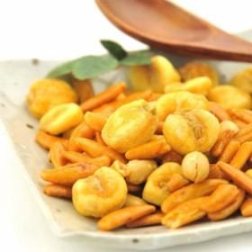 柿の種 & ジャイアントコーン 1袋 300g 柿ピー 塩こしょう味 送料無料
