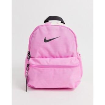ナイキ レディース バックパック・リュックサック バッグ Nike pink just do it mini backpack Psychic pink