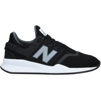《セール開催中》NEW BALANCE メンズ スニーカー&テニスシューズ(ローカット) ブラック 7.5 指定外繊維
