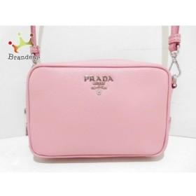 プラダ PRADA ショルダーバッグ - ピンク ストラップ着脱可/ミニサイズ レザー  値下げ 20190906