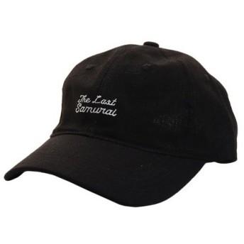 PGAC(PGAC) リネン刺繍キャップ SAMURAI 897PA9ST1750 BLK (Men's)