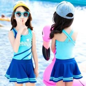 人気 3点セット キッズ 子供水着 子供 水着 セパレート ジュニア 水着 女の子 セパレート 女の子 水着 キッズ ガールズ ジュニア スクー
