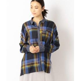 Gabardine K.T / ギャバジンK.T 続き袖のゆったりシャツ