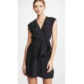 ラジャンス L'AGENCE レディース ワンピース ワンピース・ドレス Karina Pleated Dress Black