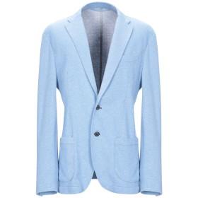 《期間限定セール開催中!》ALTEA メンズ テーラードジャケット パステルブルー 48 コットン 94% / ナイロン 6%