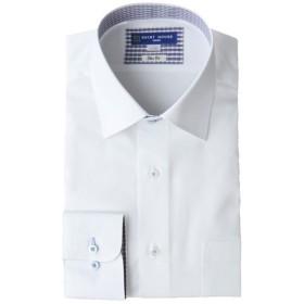 山喜 メンズ 【在庫限り】SHIRT HOUSE スリムフィット BLUEレーベル 形態安定デザインシャツ