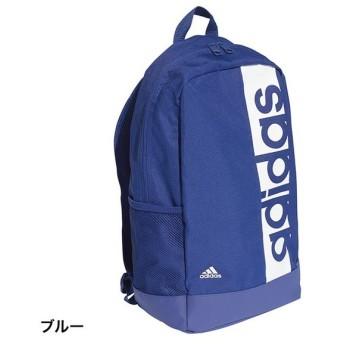 アディダス リニアロゴバックパック (DM7661) 25L デイパック リュック : ブルー adidas
