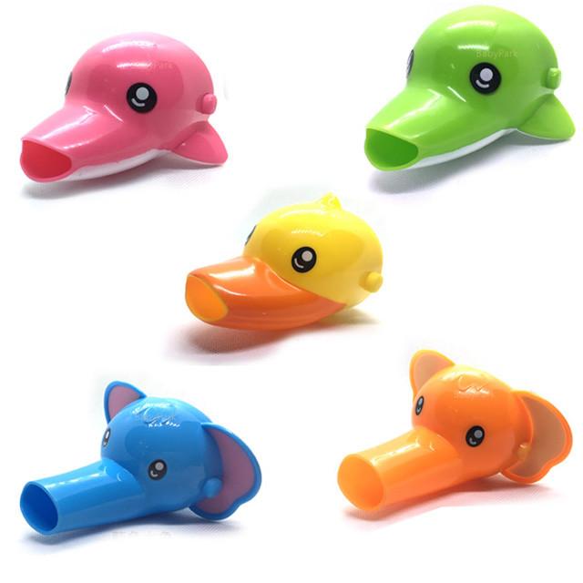 babypark 動物3d造型水龍頭延伸器 兒童學習洗手延伸器