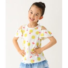 Tシャツ - 3can4on 【110cm~160cm】総柄フルーツTシャツ