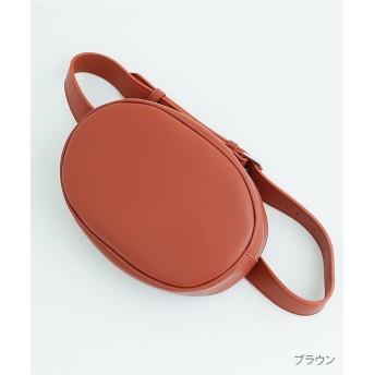 メルロー オーバルウエストバッグ2837 レディース ブラウン FREE 【merlot】