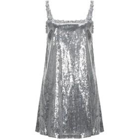 《セール開催中》BLUGIRL BLUMARINE レディース ミニワンピース&ドレス シルバー 42 ポリエステル 100%