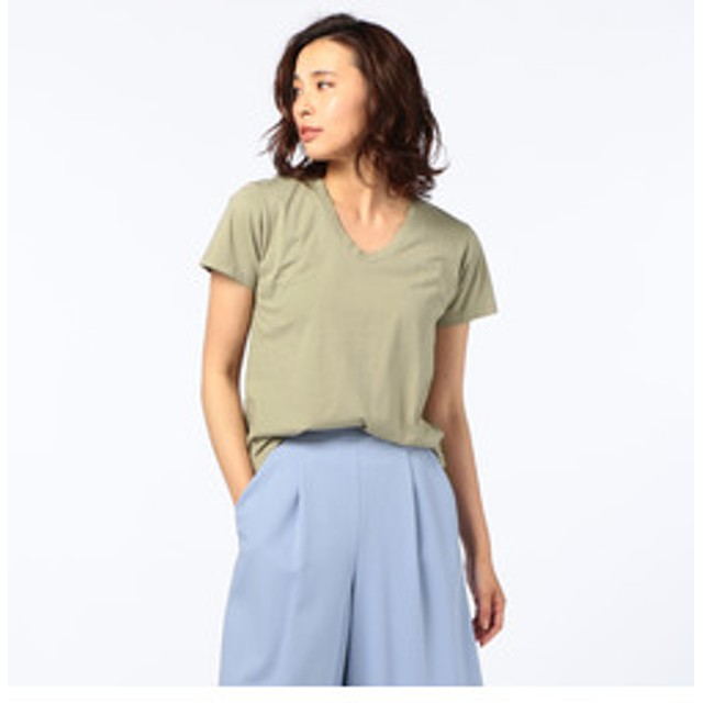【NOLLEY'S:トップス】【Freeseam/フリーシーム】UネックRelux Tシャツ