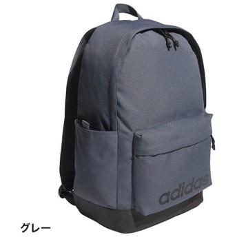 アディダス リニアロゴバックパック (DM6149) 31L デイパック リュック : グレー adidas