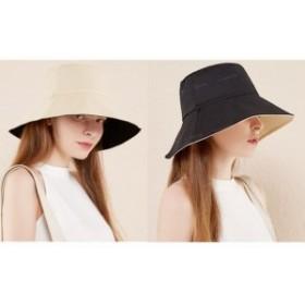 帽子ハット レディース 小顔効果抜群紫外線対策 日よけつば広 日焼け防止 熱中予防 取り外すあご紐 おしゃれ 可愛い 夏  折