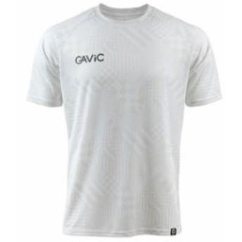 【ガビック/GAVIC】 サッカー フットサル トレーニングウェア プラクティスシャツ プラシャツ 半袖 ホワイト 吸汗速乾 昇華 GA8091-WHT