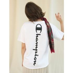 フレイ アイディー バックロゴTシャツ レディース WHT F 【FRAY I.D】