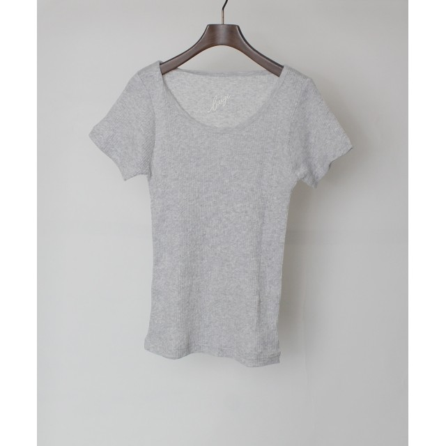 Maison de Beige リブTシャツ《ETERNAL by Maison de Beige》 Tシャツ・カットソー,モクグレー4