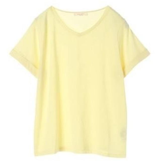 グリーンパークス Green Parks VネックTシャツ (Yellow)