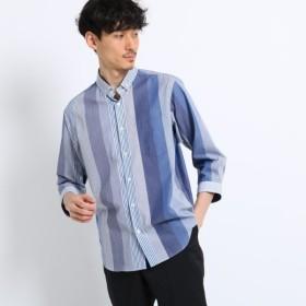 [マルイ]【セール】ランダム ストライプ 七分袖 シャツ/タケオキクチ(TAKEO KIKUCHI)